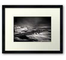 Flowing Mood Framed Print