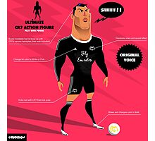 CR7 toy Photographic Print