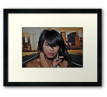 """ Lost in your eyes "" Framed Print"