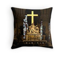 The High Altar - Notre Dame de Paris Throw Pillow