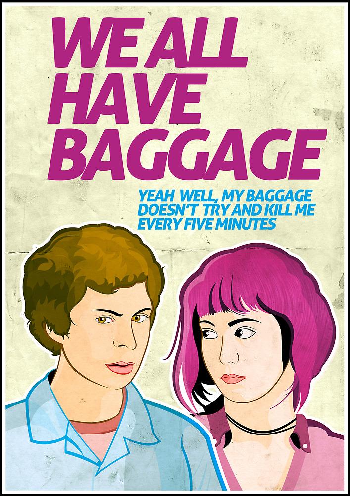 Baggage   Scott Pilgrim by Tom Trager