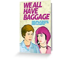 Baggage | Scott Pilgrim Greeting Card