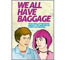 Baggage | Scott Pilgrim Photographic Print