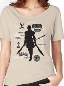 Dragon Age - Zevran Quotes Women's Relaxed Fit T-Shirt