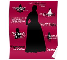 Outlander - Claire Quotes Poster