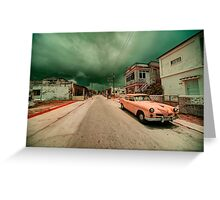 Studebaker Storm  Greeting Card