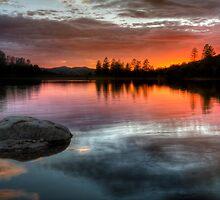 Burning Calm by Bob Larson