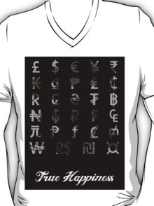 Money doesn't buy happiness, only jet skis T-Shirt