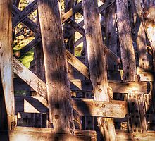 Wooden Trestle by stevebrownd50