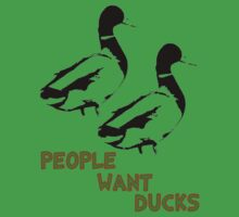 People Want Ducks Kids Clothes