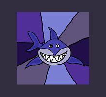 Funny Blue Grinning Shark Unisex T-Shirt