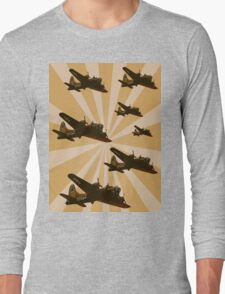 Bomber Formation Long Sleeve T-Shirt