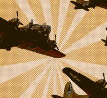 Bomber Formation Sticker