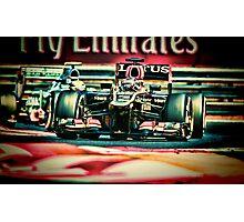 Formula 1 grand prix Photographic Print