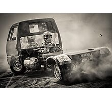 REARENDED Motorfest Burnout Photographic Print