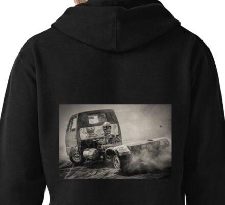 REARENDED Motorfest Burnout Pullover Hoodie