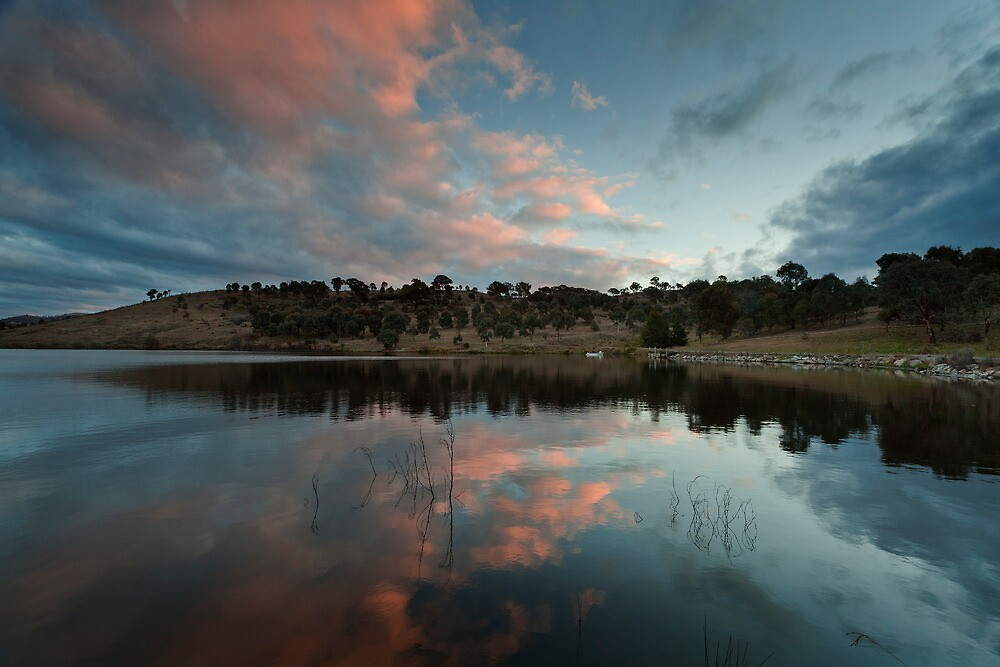 Googong sunset by DaveBassett