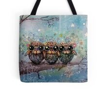 three little night owls Tote Bag