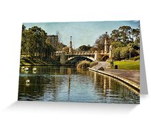 ~ Bridge over the Torrens ~ Greeting Card