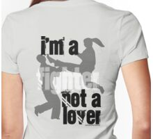 I'm a Fighter Womens Fitted T-Shirt