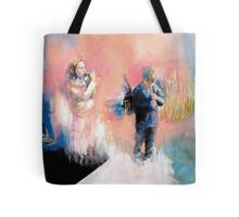 children in the field Tote Bag