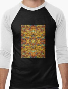 Fur kaleidoscope Men's Baseball ¾ T-Shirt