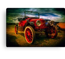 Vintage Red Canvas Print