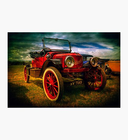 Vintage Red Photographic Print