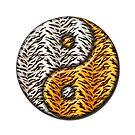 Tiger Yin Yang #2 by MarianaEwa