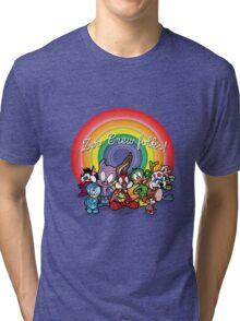 Tiny Zoo Crew Adventures Tri-blend T-Shirt