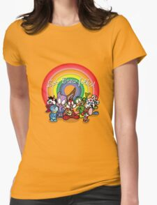 Tiny Zoo Crew Adventures Womens Fitted T-Shirt