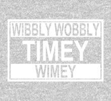 Timey Wimey One Piece - Short Sleeve