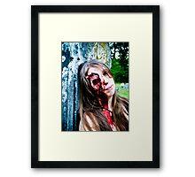 Scream Seeker Framed Print