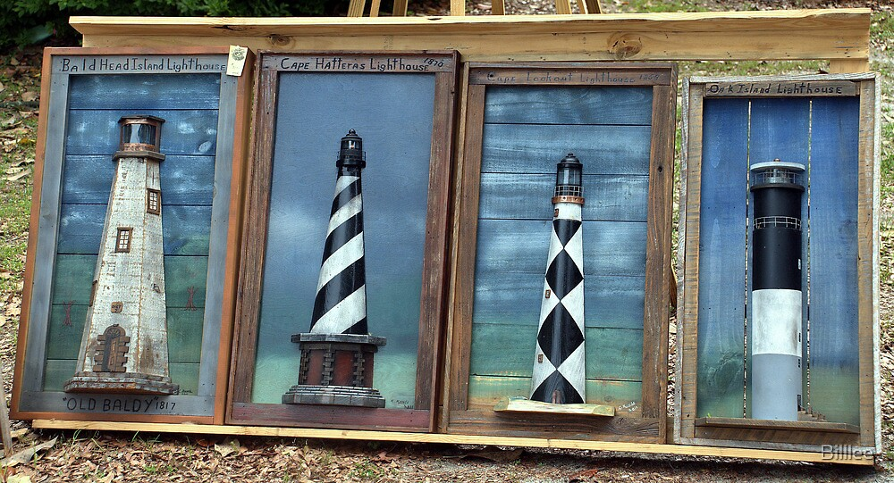 Light Houses of the Outer Banks by Billlee