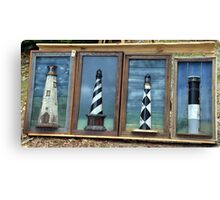 Light Houses of the Outer Banks Canvas Print