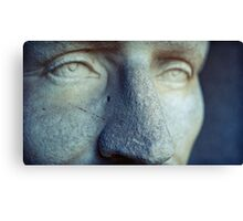 looking past tomorrow, he never wept Canvas Print