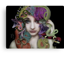 Gorgon's Gaze Canvas Print