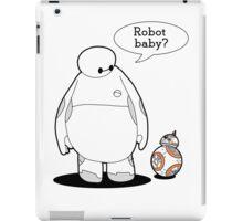 Robot Baby iPad Case/Skin