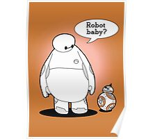 Robot Baby Poster