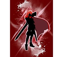 Super Smash Bros. White/Red Lucina Photographic Print