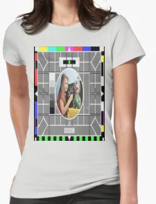 Testcard Womens Fitted T-Shirt