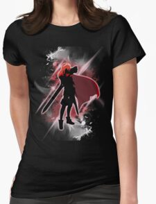 Super Smash Bros. White/Red Lucina Womens Fitted T-Shirt