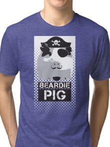 Pirate - Halftone Tri-blend T-Shirt