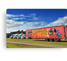 Circus Transportation Canvas Print