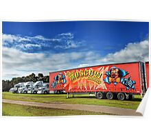Circus Transportation Poster