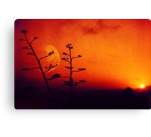 Impossible Sunset Canvas Print