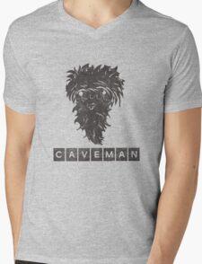 Caveman Mens V-Neck T-Shirt
