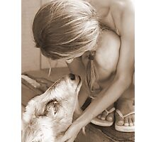 A Sweet Moment  Photographic Print