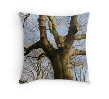LONDON PARKS NATURALLY 8 ~ NATURE STANDS TALL  Throw Pillow