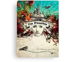 Impossible II Canvas Print